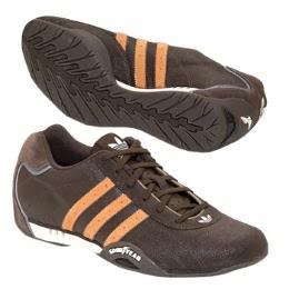 chaussure adidas goodyear marron