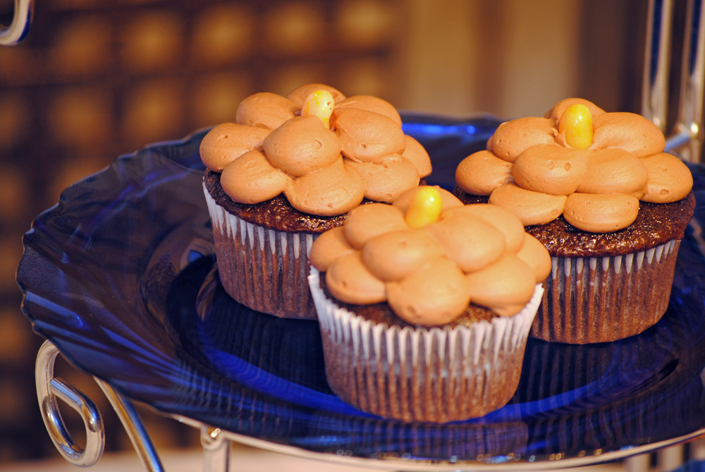 Suzy Sweet Tooth: Chocolate Orange Blossom Cupcakes