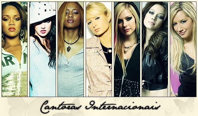 ♪ Cantoras Internacionais