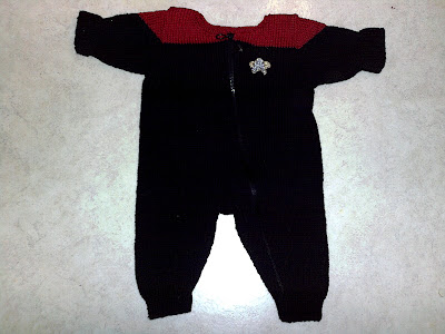 Vad en ung rymdfarare bör bära.