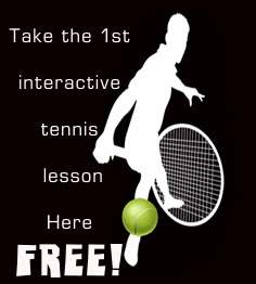 1st interactive tennis lesson