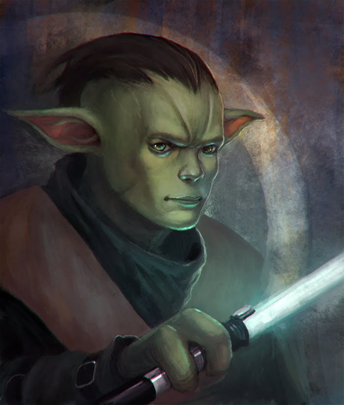Yoda drawing competition with a twist i did a young version of him
