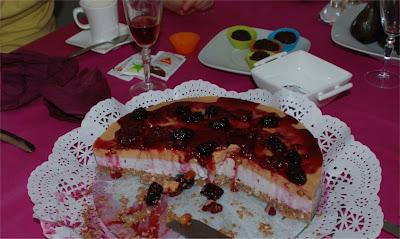 Cheesecake de frutos vermelhos Cheesecake0