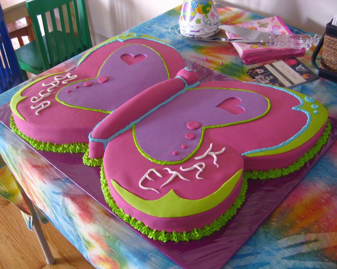 Jana*s Fun Cakes . blogspot: The Butterfly Cake