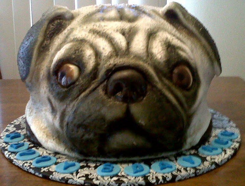 Pug Dog Cake Images : Jana*s Fun Cakes . blogspot: The Pug Cake