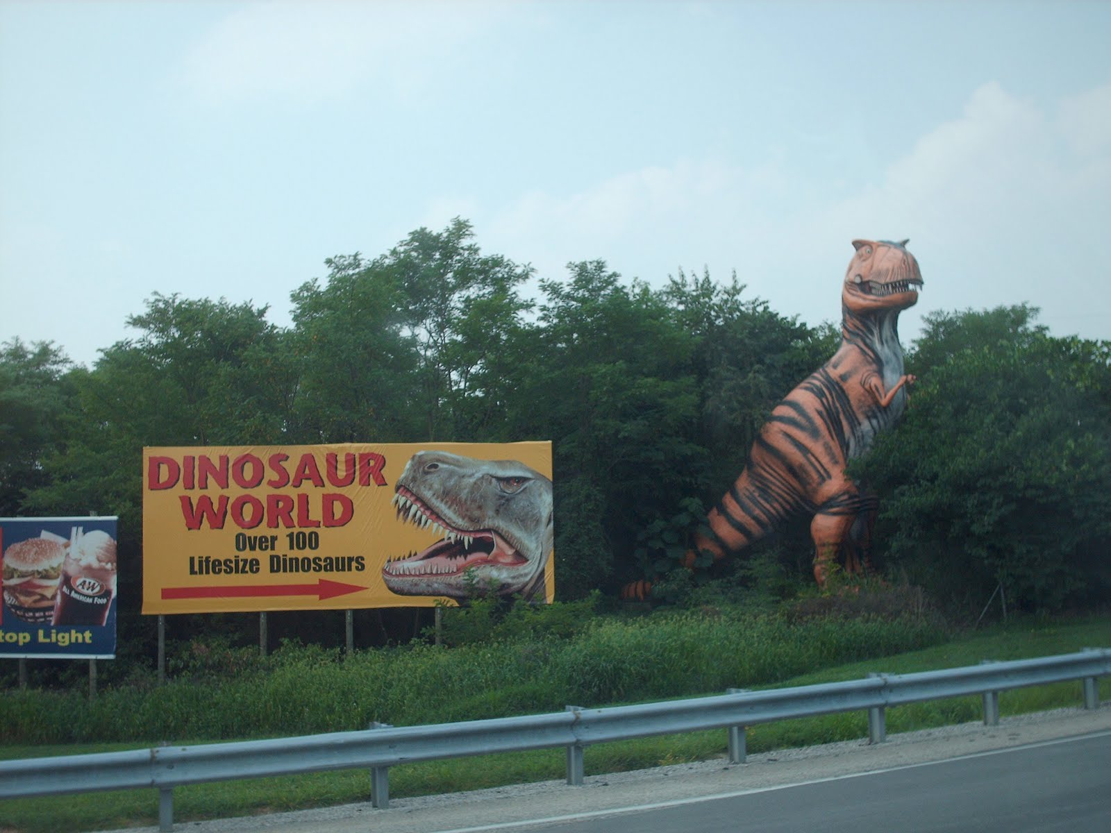 America In Only Dinosaur World Ky Usa