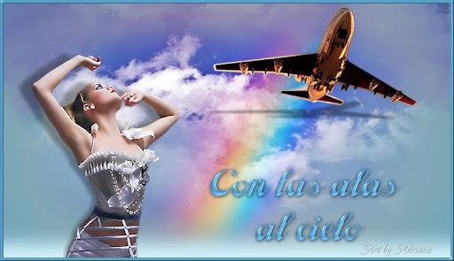 Con las alas al cielo