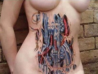 Biomechanical Tattoos on Biomechanical Tattoos
