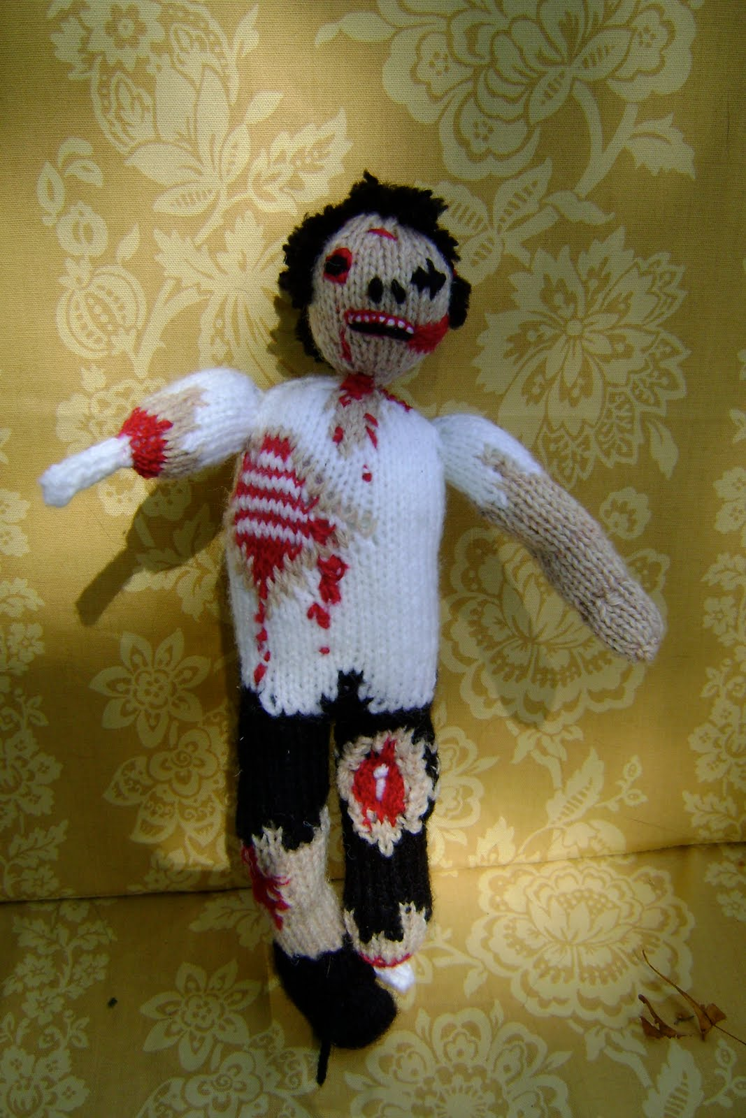 Zombie Knitting Pattern : Mutton s adventures in knitting zombie pattern notes