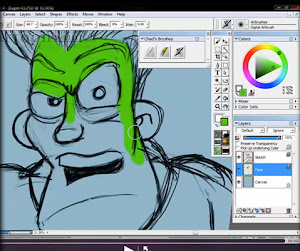 WANT TO KNOW HOW CHAD TAKES HIS DIGITAL CARTOON CREATIONS AND GIVE THEM THAT 3D LOOK?