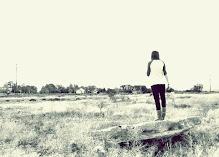 Estoy perdida buscandote.