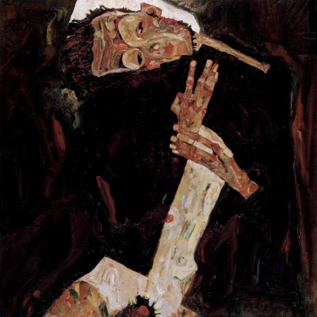 Egon Schiele - Page 2 Egon_Schiele_-_The_Poet