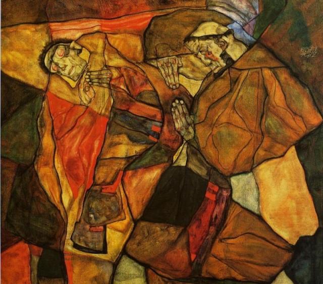 Egon Schiele - Page 2 Egon_Schiele_-_Agony__The_Death_Struggle_