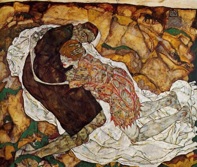 Egon Schiele - Page 2 Egon_Schiele_-_Death_and_the_Maiden