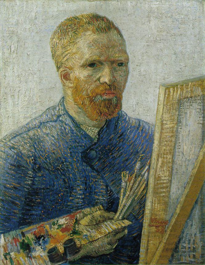 Autoportrait, image de l'intérieur Van-gogh-autoritratto-come-artista+1887-88