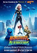 ''Monstruos contra Alienígenas'', animación contra guión. [5/10]