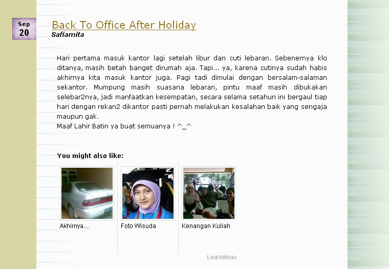 safiamita: Membuat Artikel Terkait di Blogspot dengan ...