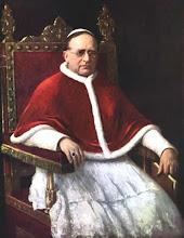 PIO XI contra o Ecumenismo.