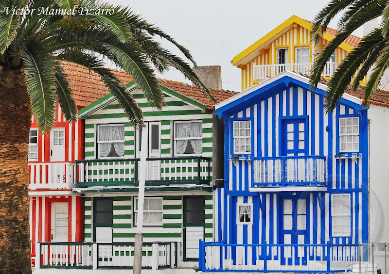 un de madera traditional houses of costa nova estuary of aveiro prata coast portugal ra de aveiro costa da prata