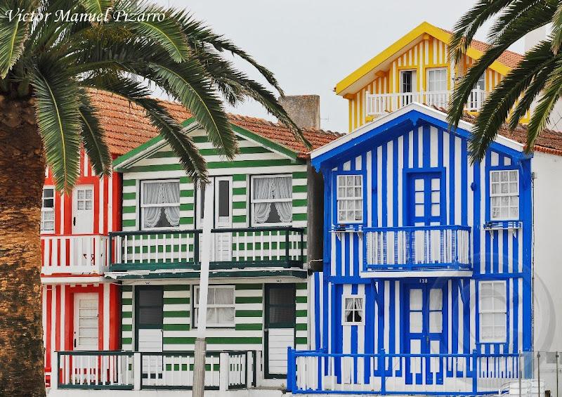 Ciudad dormida palheiros de costa nova aveiro portugal - Casas de madera en portugal ...