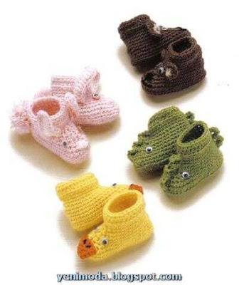 bebek yenimoda.blogspot.com1 0 3 Yas Kiz Cocuklari icin ayakkabi  Modelleri