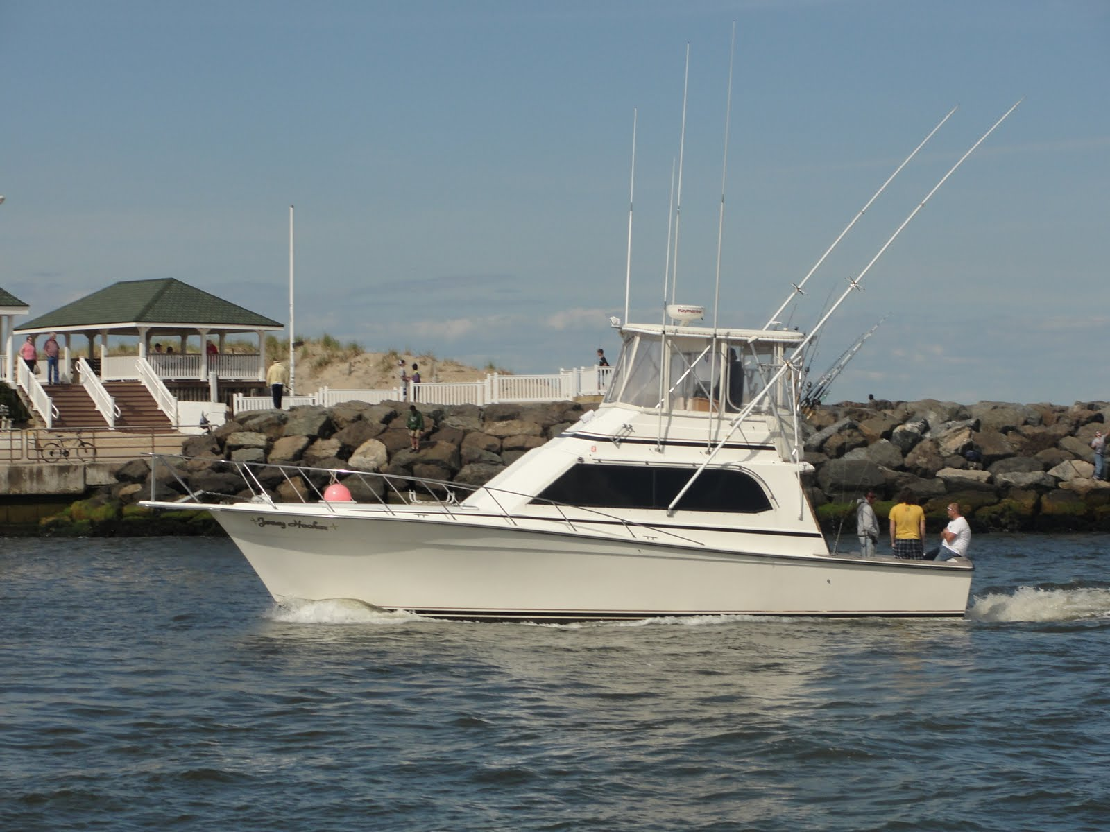 New jersey fishing charters may 2010 for Fishing charters nj