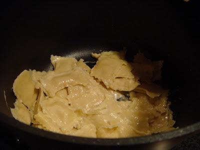 ravioli with sauce