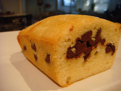 pound cake with chocolate chips