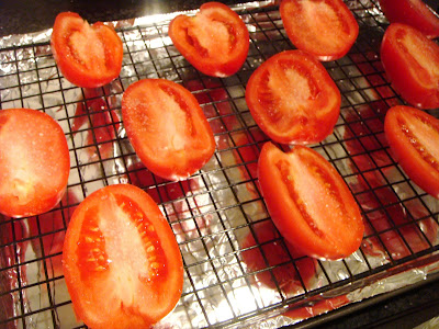 tomatoes ready to be roasted