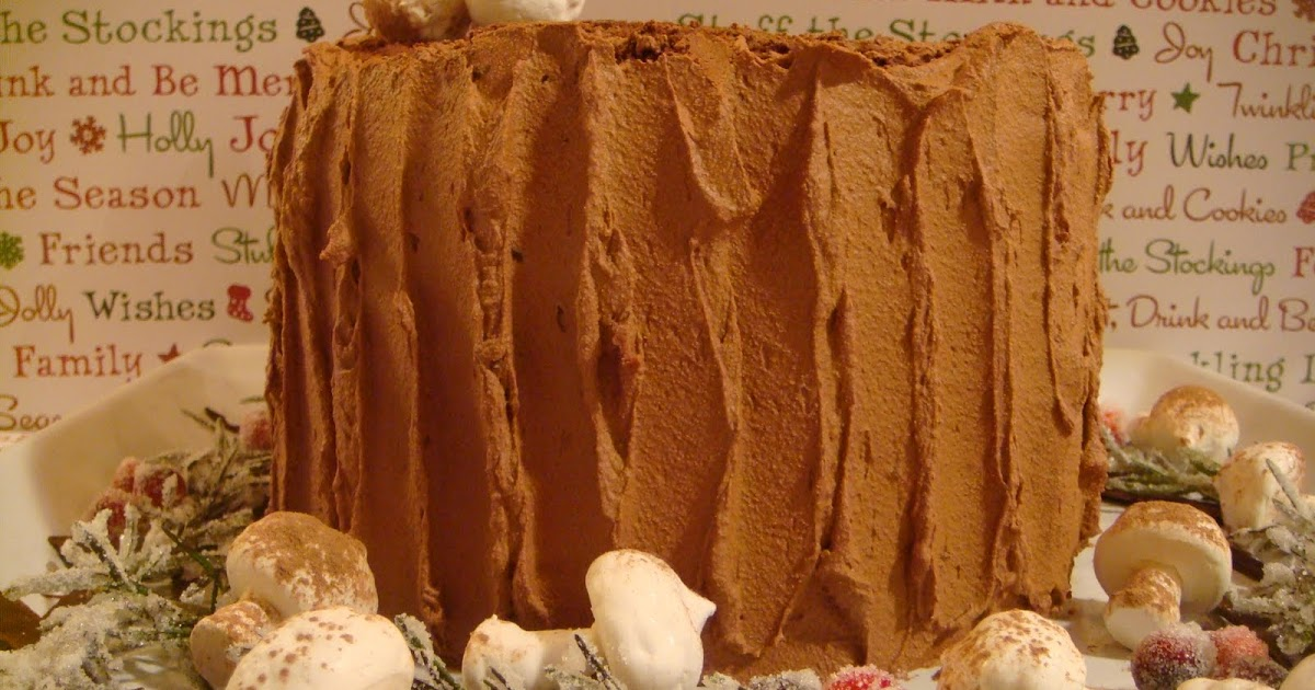 Chocolate Pistachio Yule Log Recipe Delicious Magazine ...
