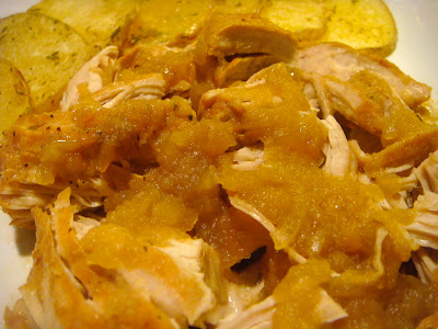 Apple-braised turkey