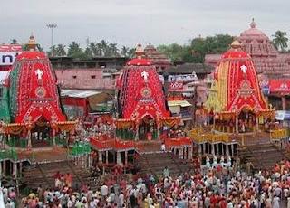 Jagannath Puri Rath Yatra in Orissa India