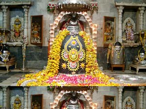 Shiva Idol at Somnath Jyotirlinga Temple Gujarat