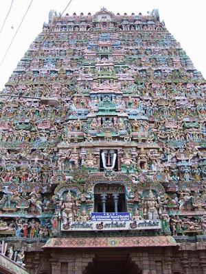Sarangapani Swami Temple Gopuram Wallpaper