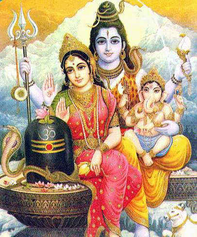 images of god shiva. lord shiva family