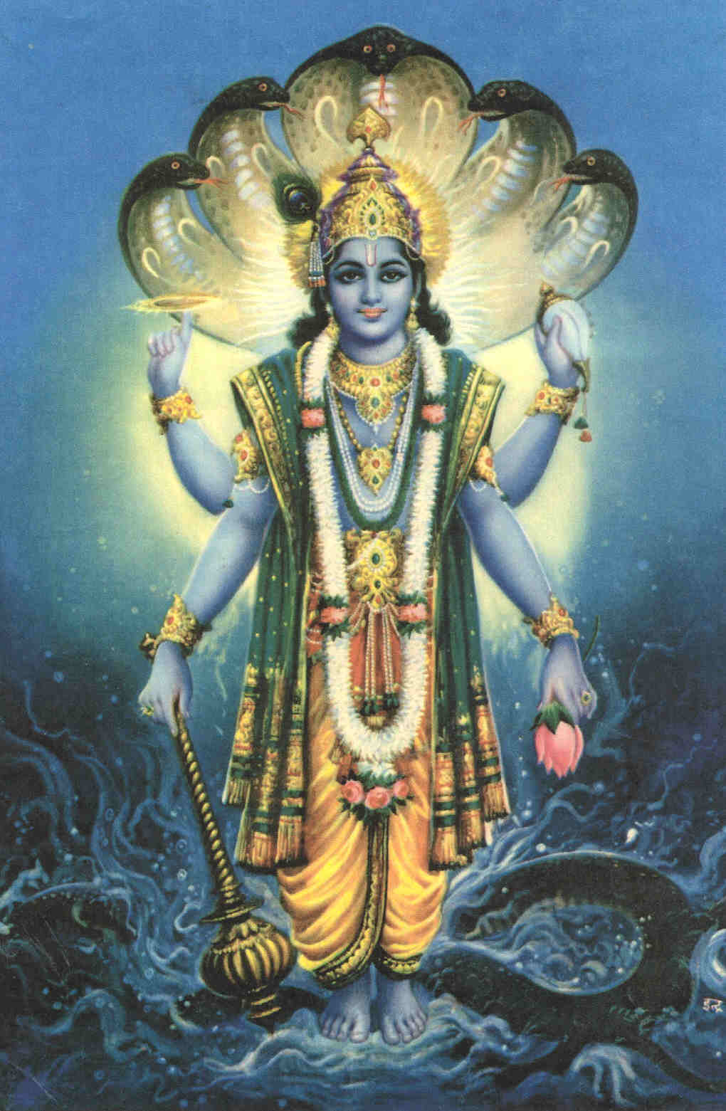 Hindu Devotional Blog: Vishnu Sahasranamam Stotram Lyrics - 1000 Names