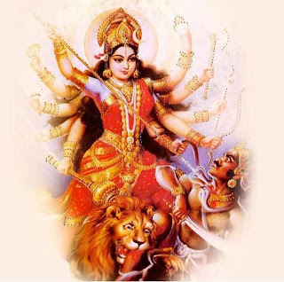 Picture of Mahishasura Mardini Stotram Lyrics and English Meanings