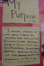 My Purpose Is To.....