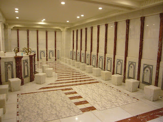 Design of Muslims Prayer Area Ablution Spaces Architectural