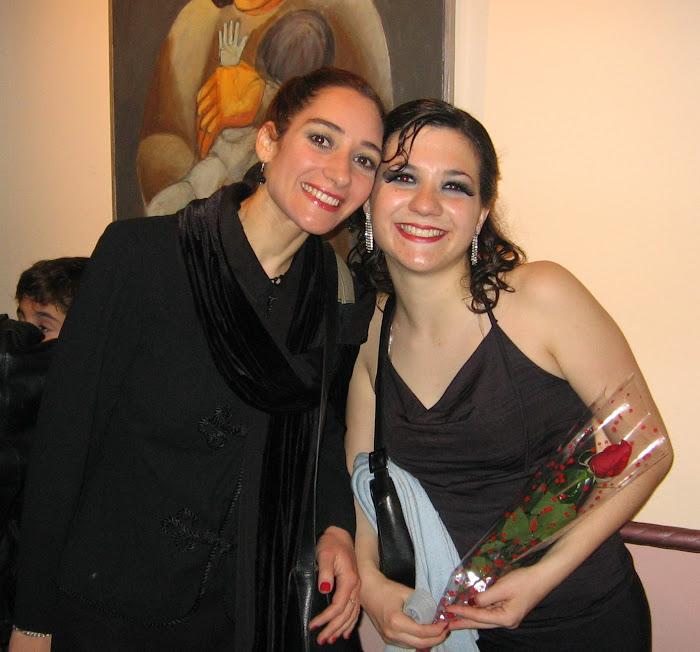 Con mi Maestra Laura Rosen