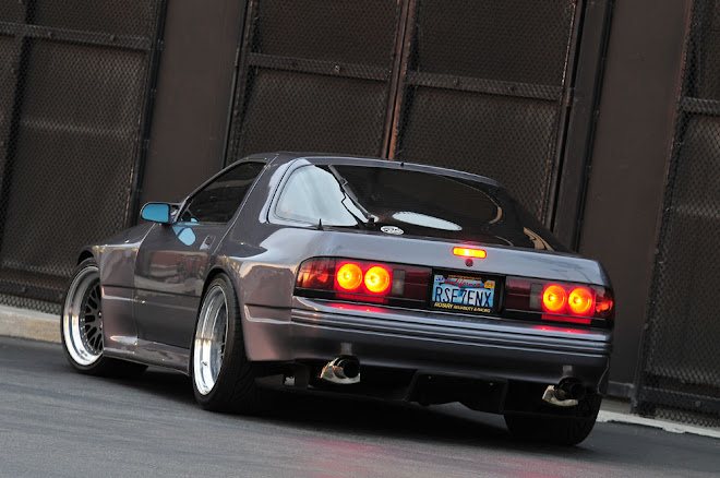 Three-rotor turbo wide-body RX-7
