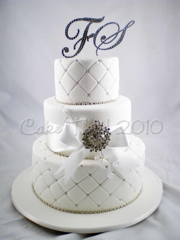 I had made Florencia 39s Sisters wedding cake a couple of years back and now