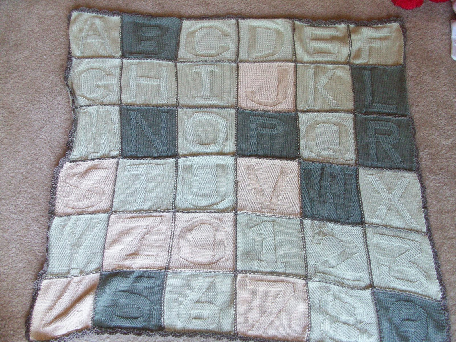 Knitting Pattern Patchwork Afghan : Knitting Patterns For Patchwork Baby Blankets
