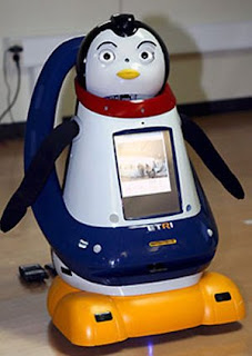 Robot penguin pet