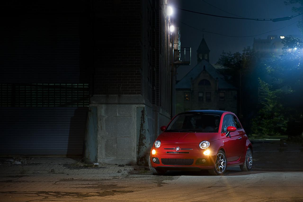 La mitad de los Fiat 500 americanos son manuales! Fiat500usa