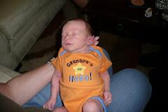 Kaleb loves his Grandpa!