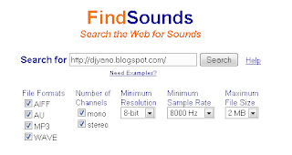 Search for Sound Effects and Instrument Samples Online