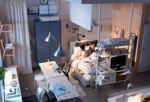 Design by herwell bedsit for Bedsitter interior design