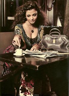Aishwarya Rai Bachchan on Hi Blitz Magazine