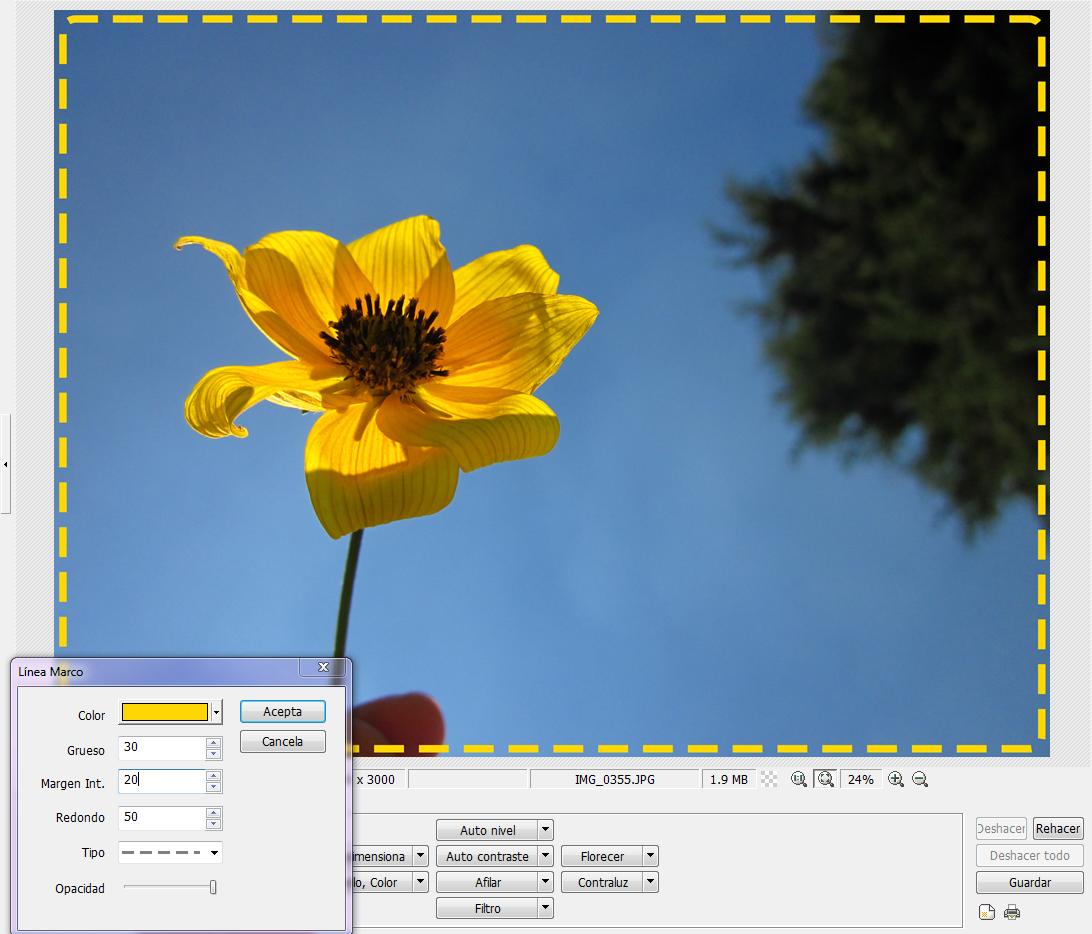 Calentura de una Fotografía: Photoscape - Tutorial 2